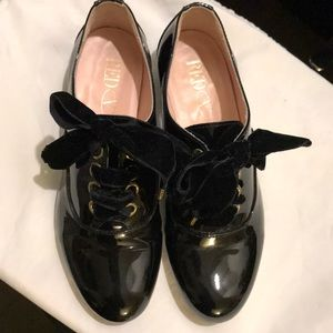 RED Valentino Shoes - Red Valentino Patent Leather Loafers